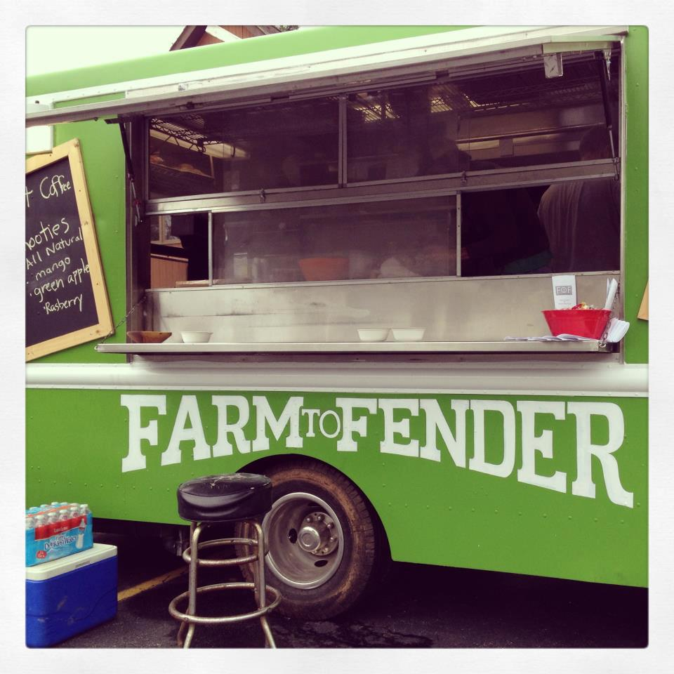 Farm to fender food truck 4 30pm 9pm for Food truck design app